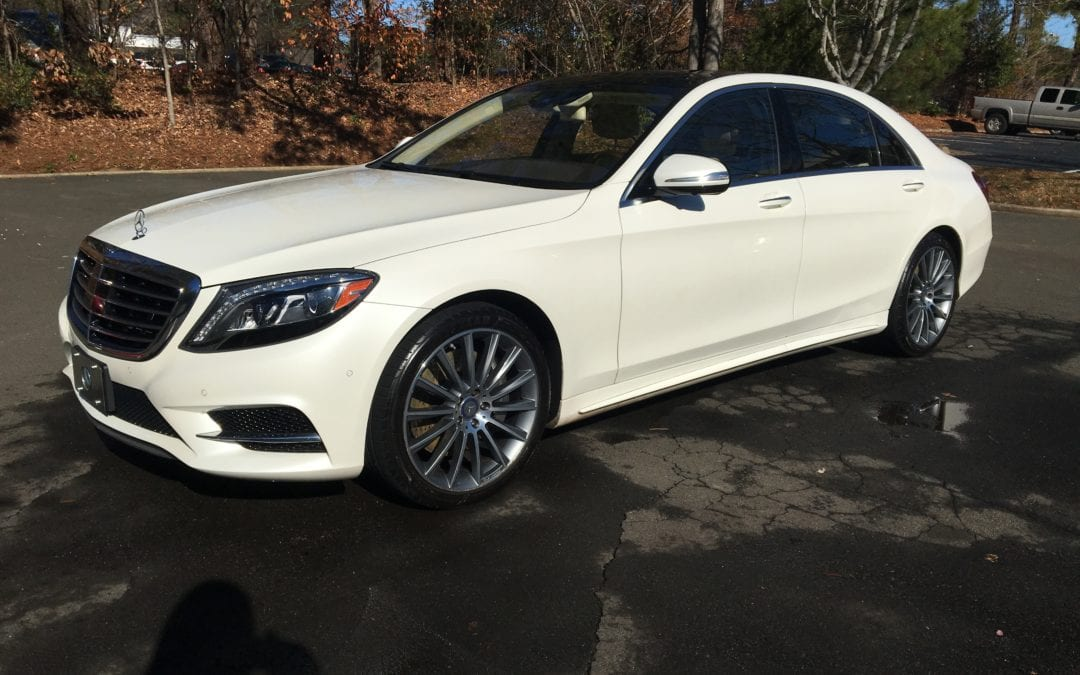 Photos of finished 2015 Mercedes S550