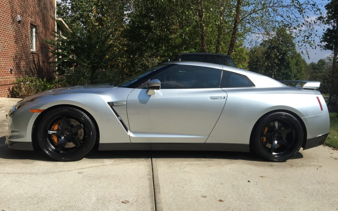 Photos of finished 2015 Nissan GTR