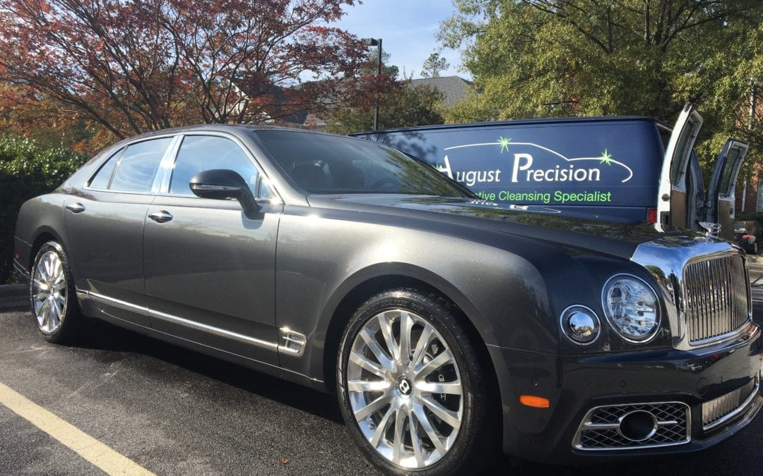 Photos of finished 2017 Bentley Mulsanne