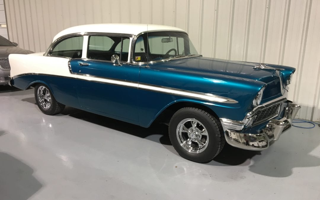 Photos of finished 1957 Chevrolet