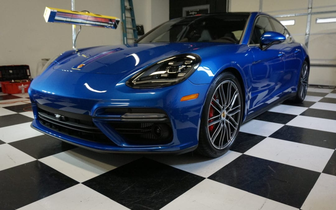Photos of finished 2017 Porsche Panamara