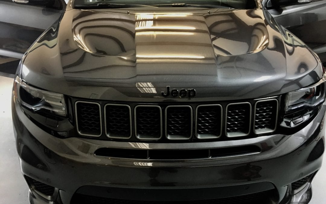 Photos of finished 2018 Jeep Cherokee TrackHawk