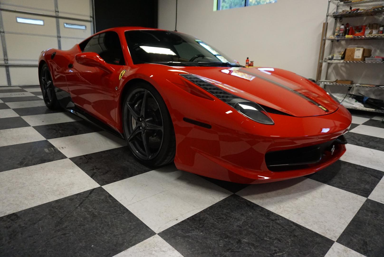Complete Restoration of 2012 Ferrari 458