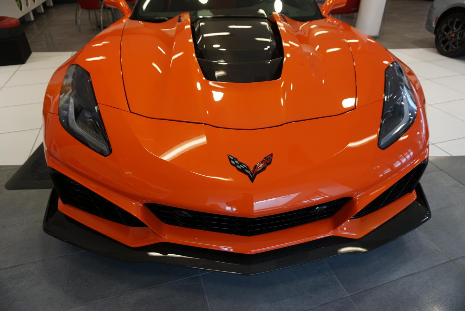 New Car Preparation Package of 2018 Chevrolet Corvette