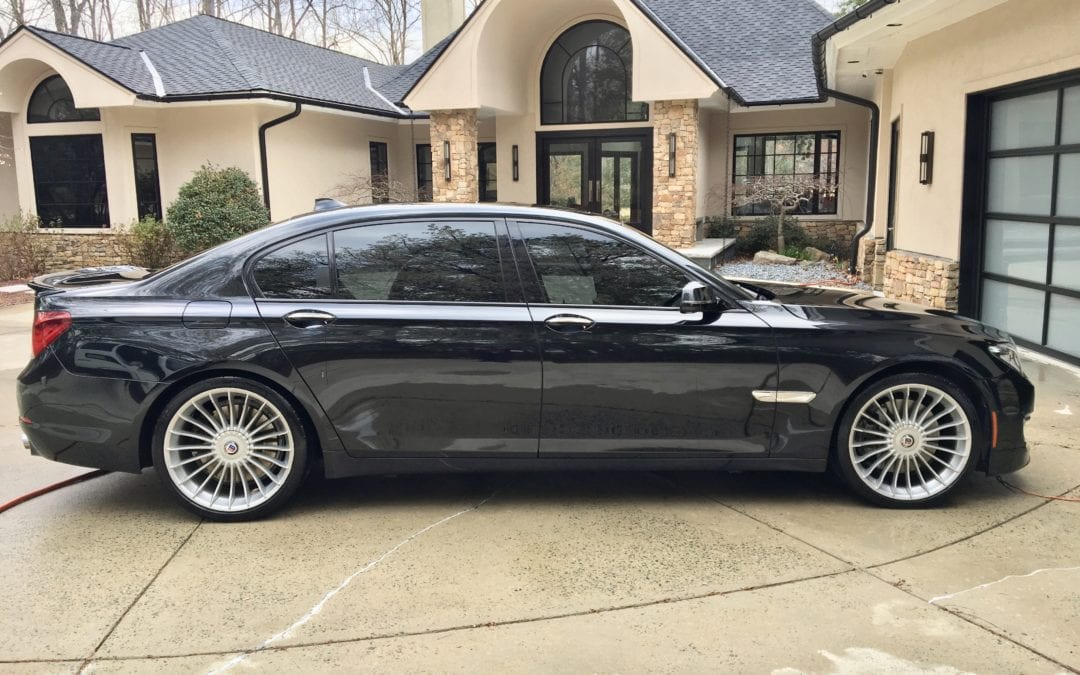 Photos of finished 2015 BMW 760