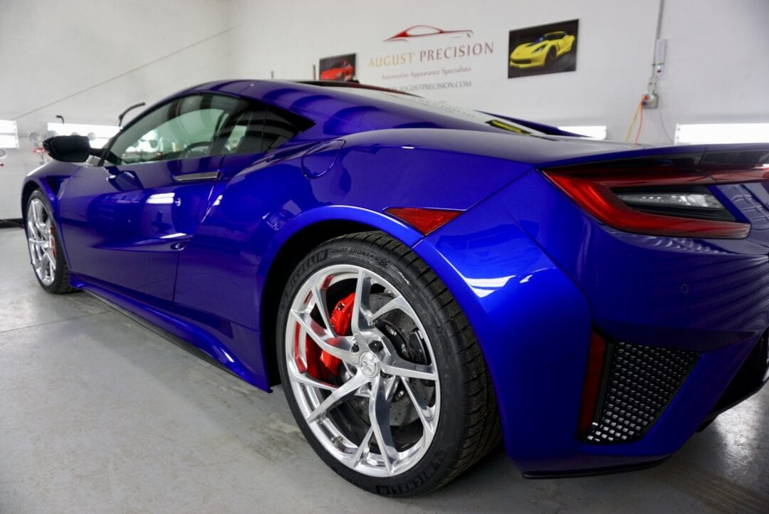 New Car Preparation Package of 2018 Acura NSX