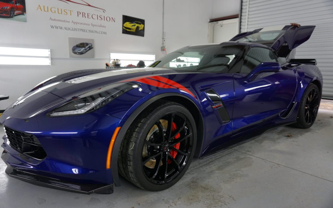 New Car Preparation Package of 2017 Chevrolet Corvette