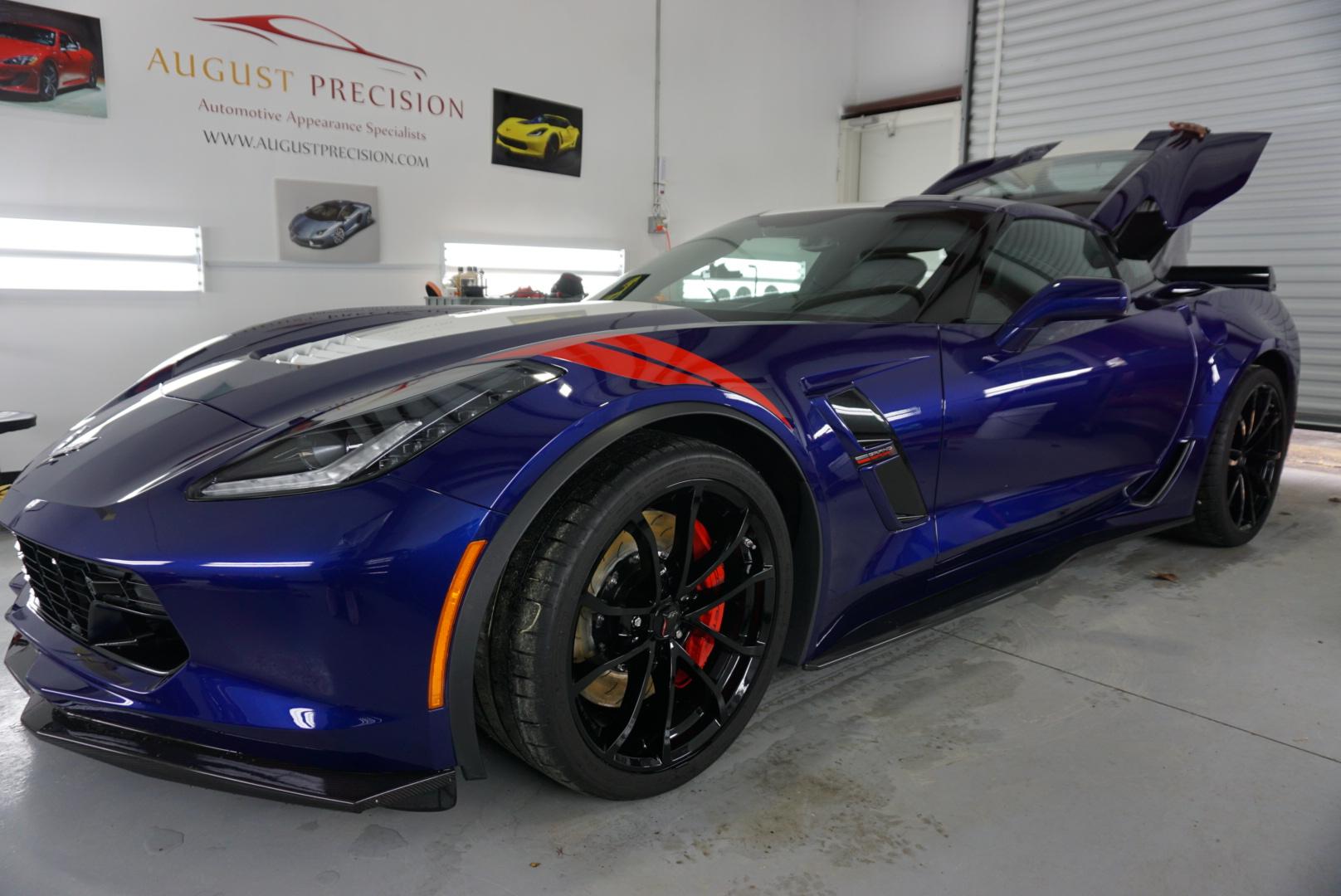 New Car Preparation Package of 2017 Chevrolet Corvette