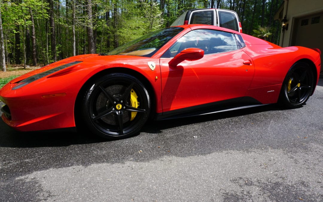 The Beautiful Wash of 2015 Ferrari 458 Italia