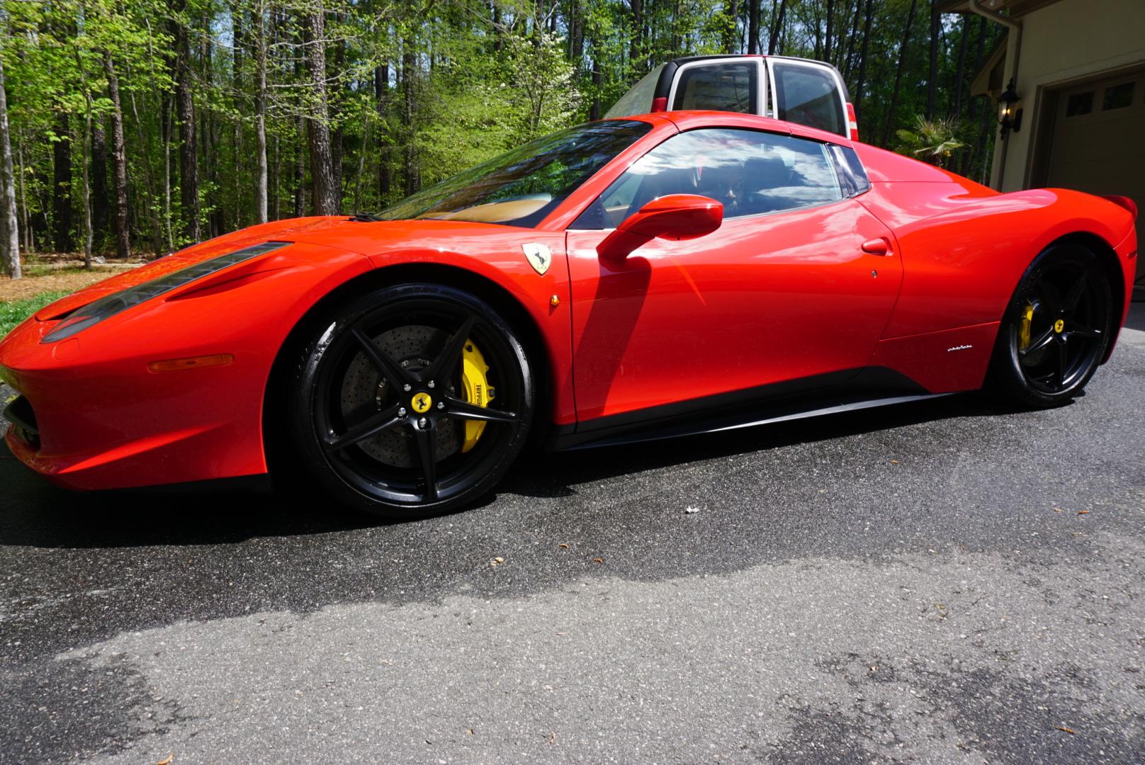 The Beautiful Wash of 2015 Ferrari 458 Italia