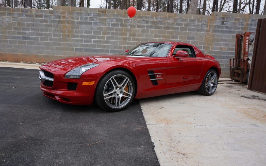 Original Detail of 2015 Mercedes SLS AMG