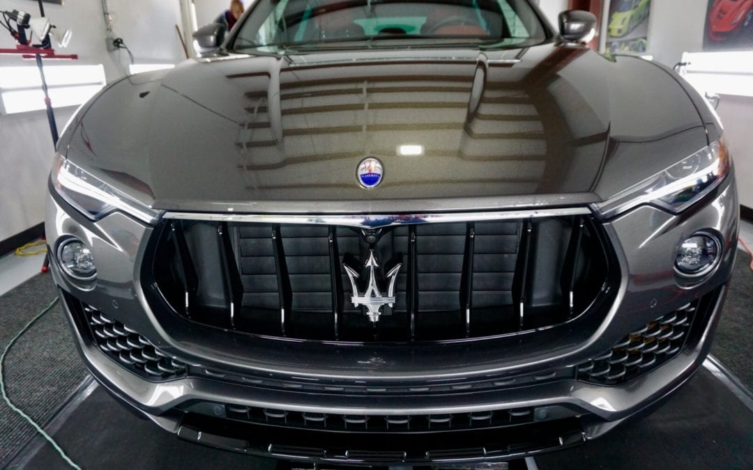 Premier Wash & Restoration of 2018 Maserati Levante
