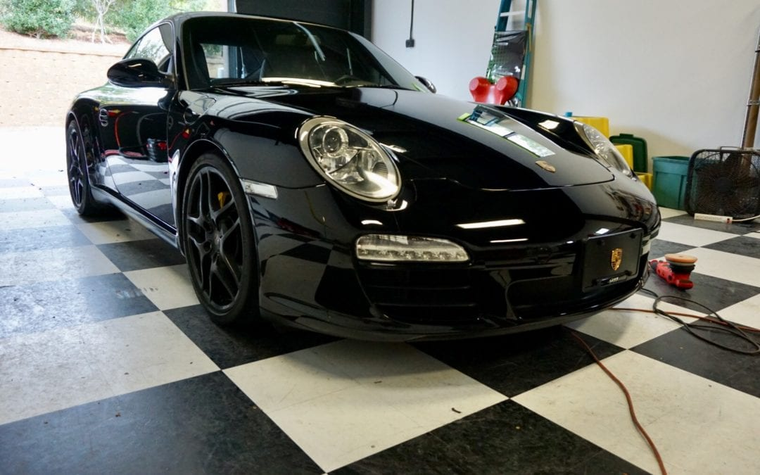 Full Exterior Detail of 2006 Porsche 911