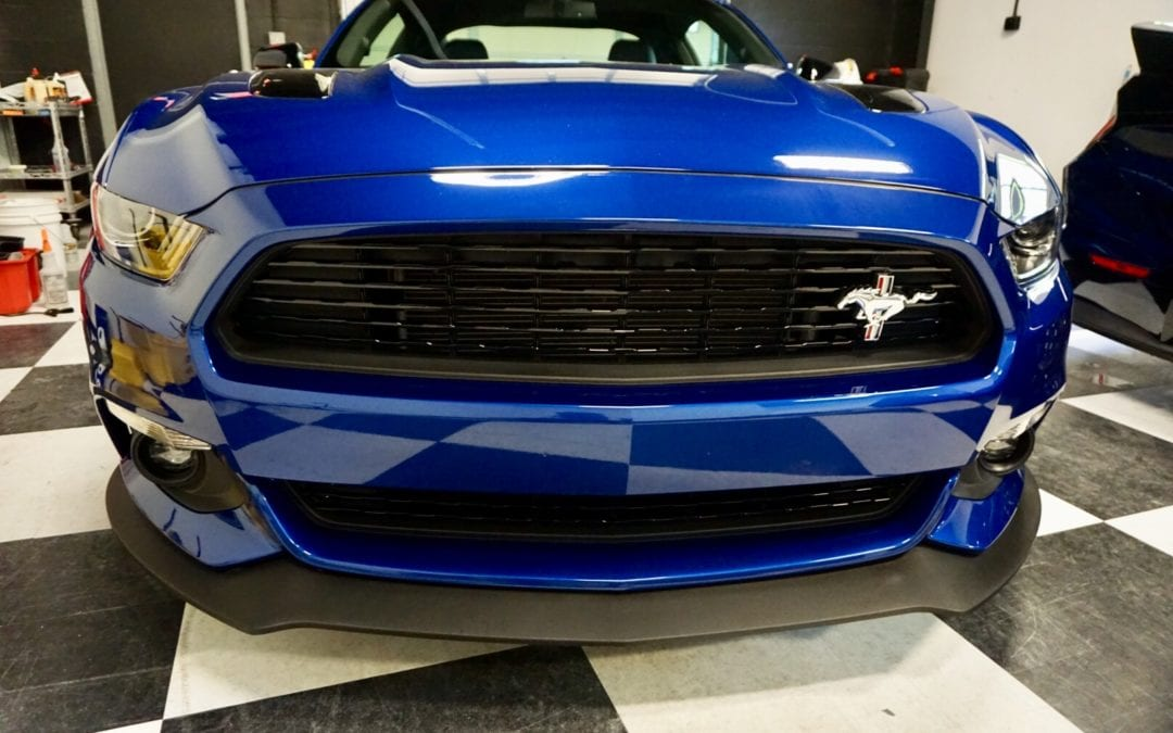 New Car Preparation Package of 2018 Ford Mustang