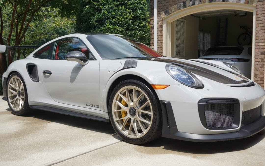 New Car Preparation Package of 2018 Porsche 911
