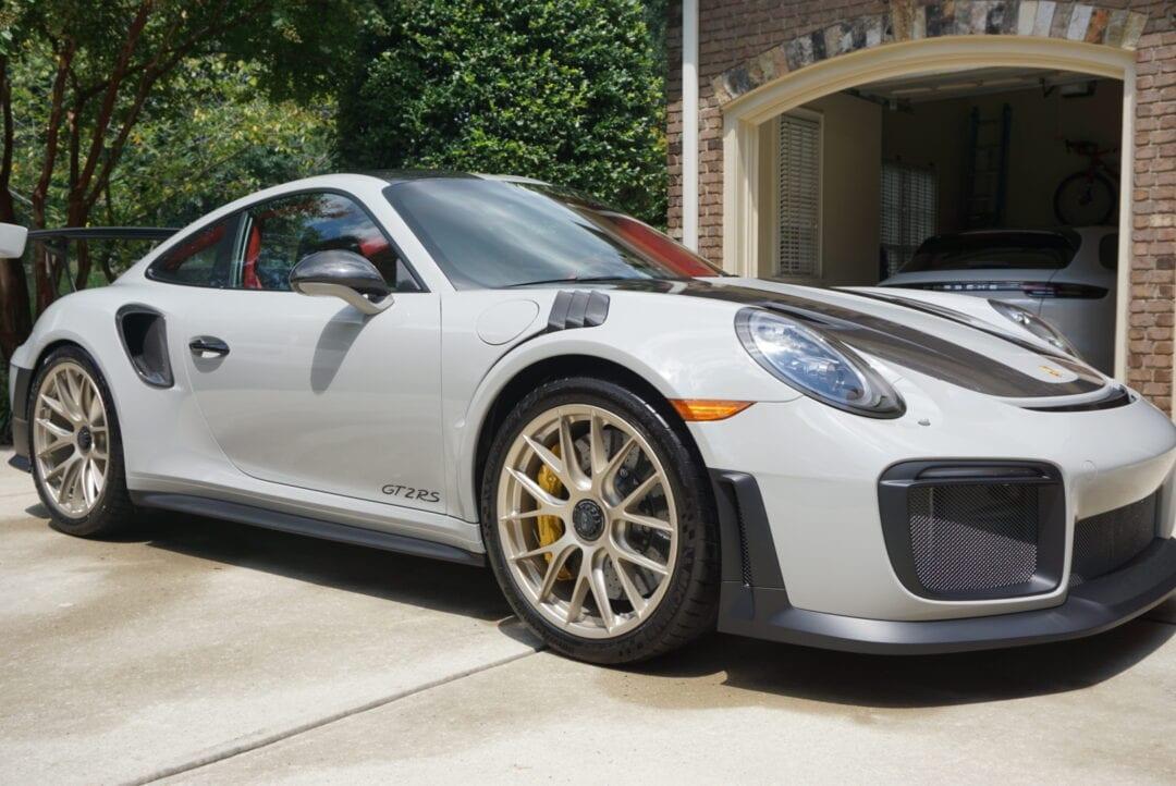 New Car Preparation Package of 2018 Porsche 911