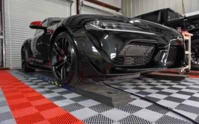 New Car Preparation of a 2020 Toyota Supra