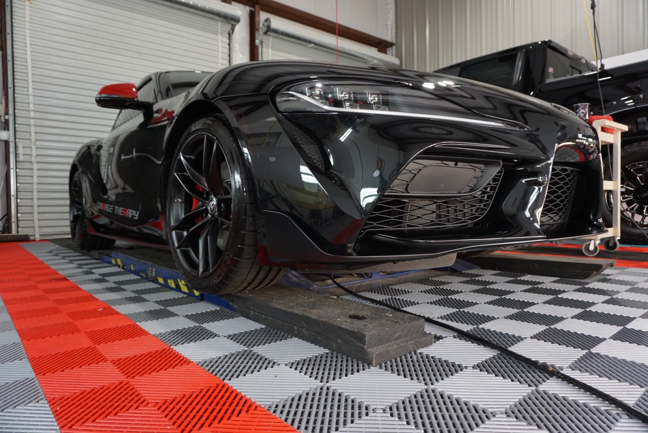 New Car Preparation of a 2020 Toyota Supra