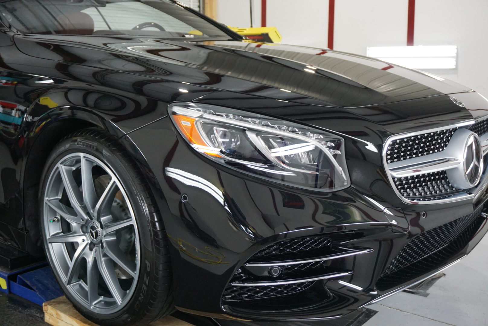 New Car Preparation Package of 2019 Mercedes S 560
