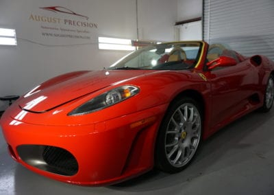 Signature Detail of 2014 Ferrari FF