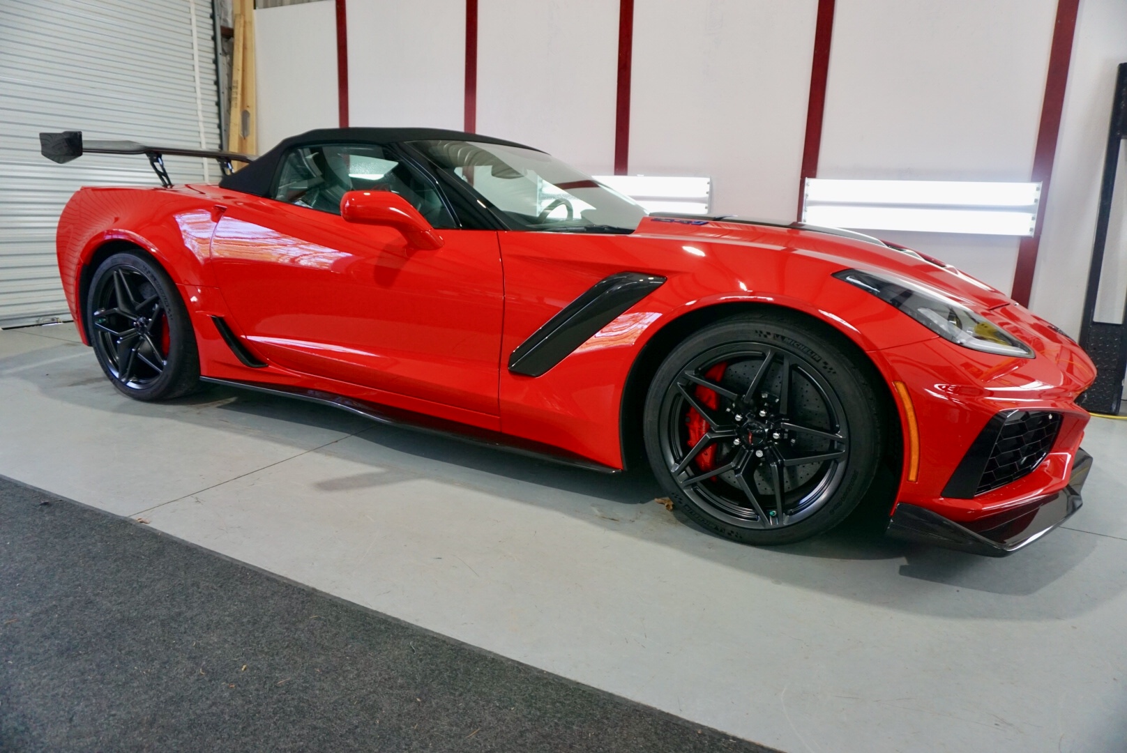 New Car Preparation Package of 2019 Chevrolet Corvette ZR1