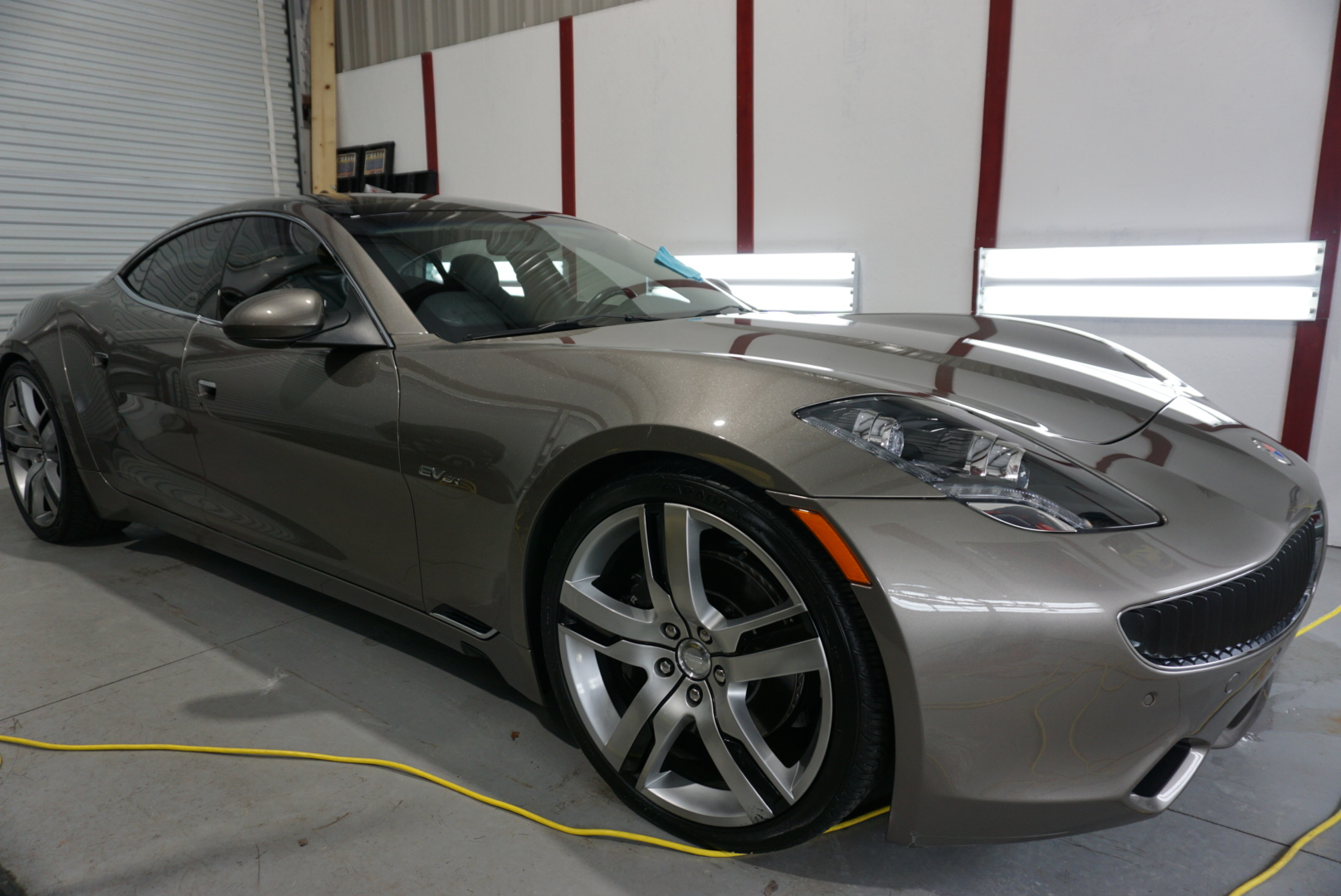 Ceramic Coating of a 2016 Fisker Karma