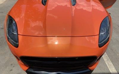 Full Detail of a 2019 Jaguar F Type
