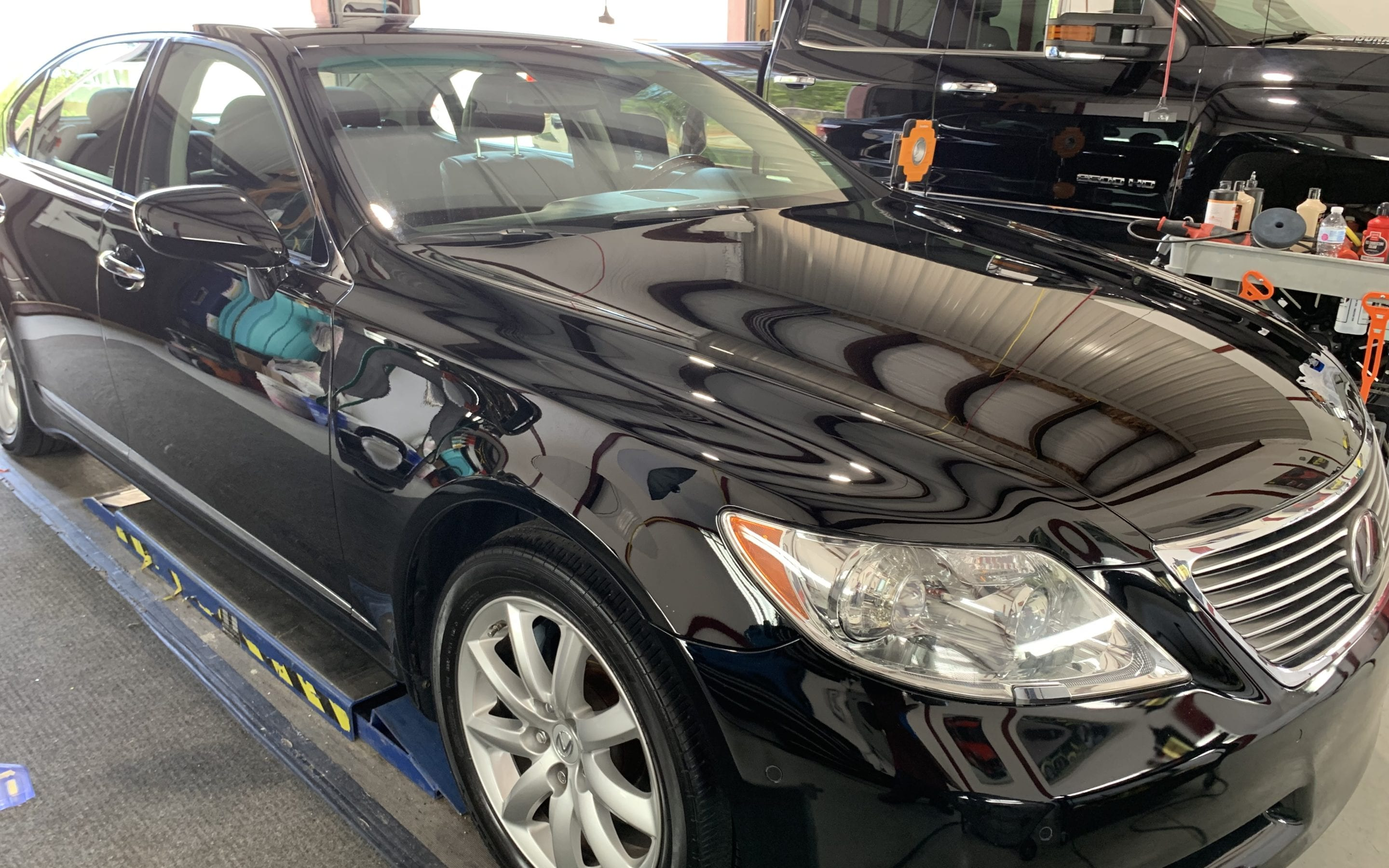 Ceramic Coating of a 2015 Lexus LS
