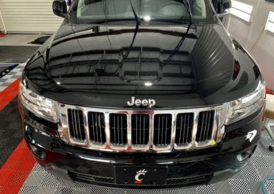 Photo of a 2018 Jeep Cherokee Ceramic Coating