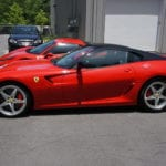 Photo of a 2011 Ferrari 599 with a Ceramic Coating