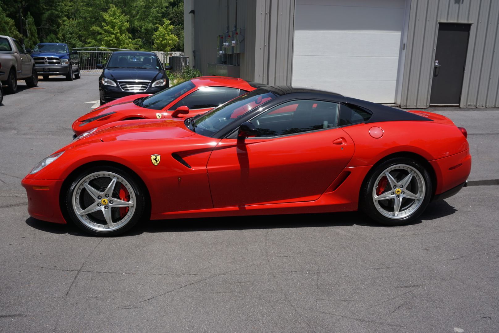 Ceramic Coating of a 2011 Ferrari 599