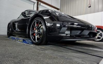 New Car Preparation of a 2019 Porsche 718 Boxster