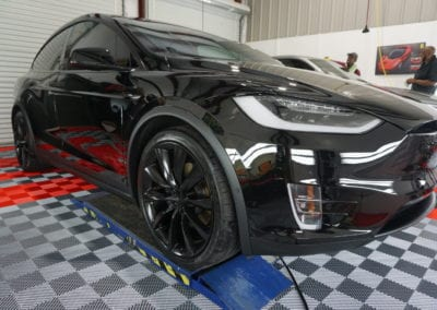 Photo of a Ceramic Coating of a 2018 Tesla Model X