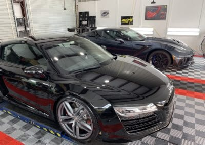 Photo of a 2017 Audi R8 Getting a Ceramic Coating