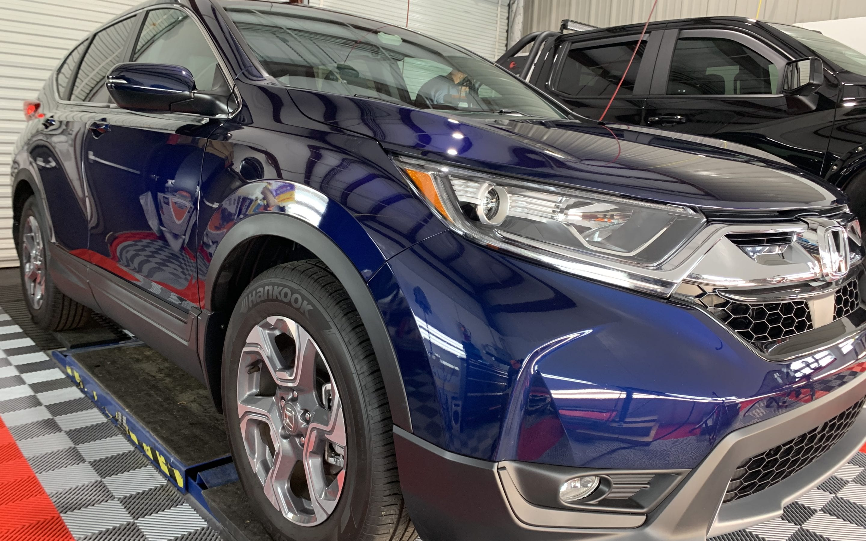 New Car Preparation of a 2019 Honda CR V