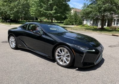Photo of a 2018 Black Lexus LC