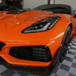 Photo of an Orange 2019 Chevrolet Corvette