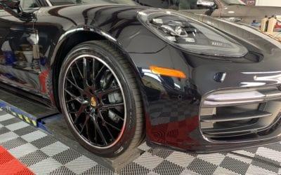 New Car Preparation of a 2018 Porsche Panamera