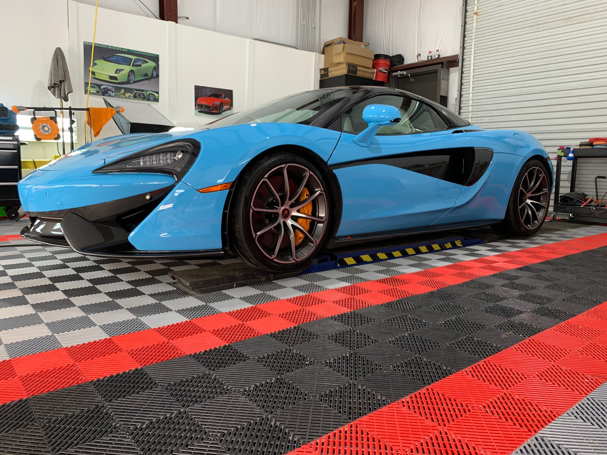 New Car Preparation of a 2018 McLaren 570s