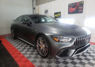 Ceramic Coating of a 2019 Mercedes AMG GT