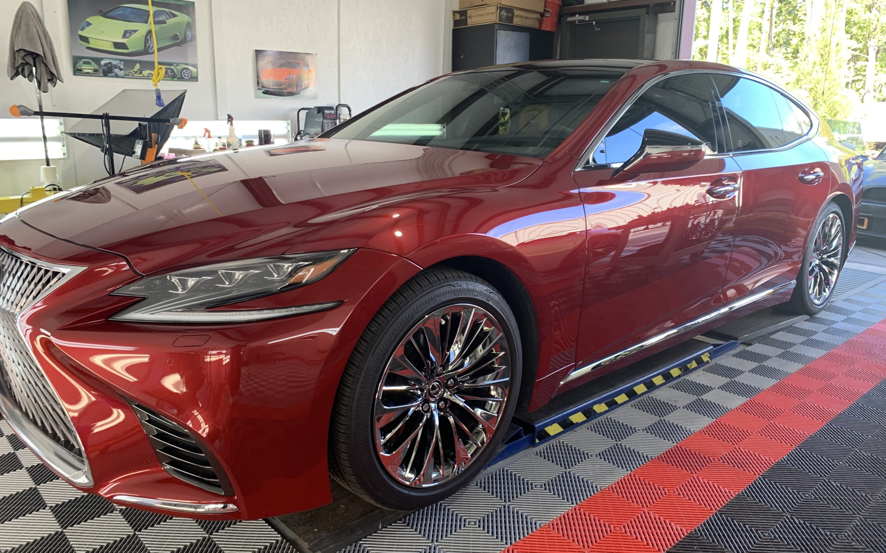 Ceramic Coating of a 2019 Lexus LS