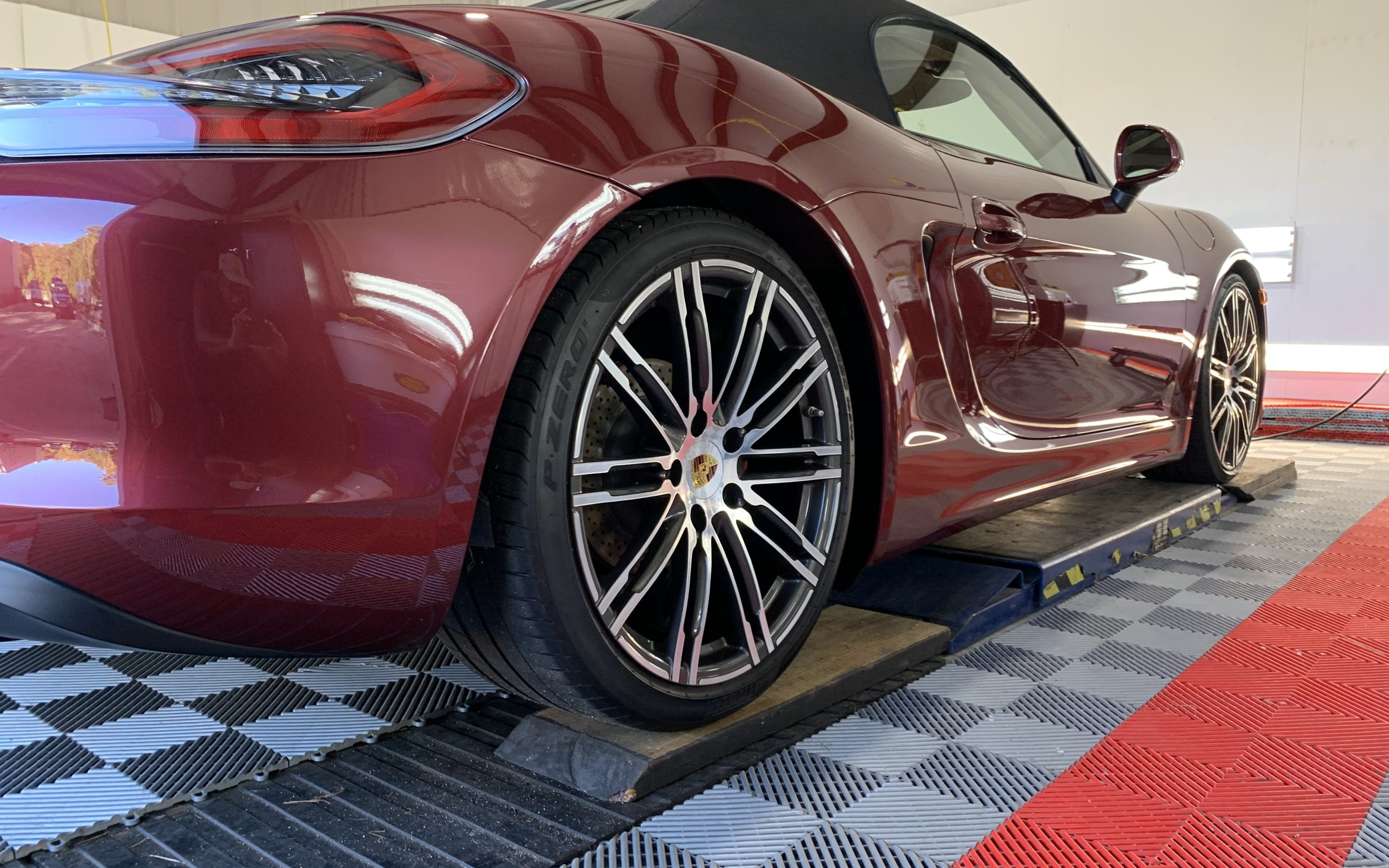 Ceramic Coating of a 2018 Porsche 718 Boxster