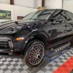Photo of a New Car Preparation of a 2019 Porsche Cayenne