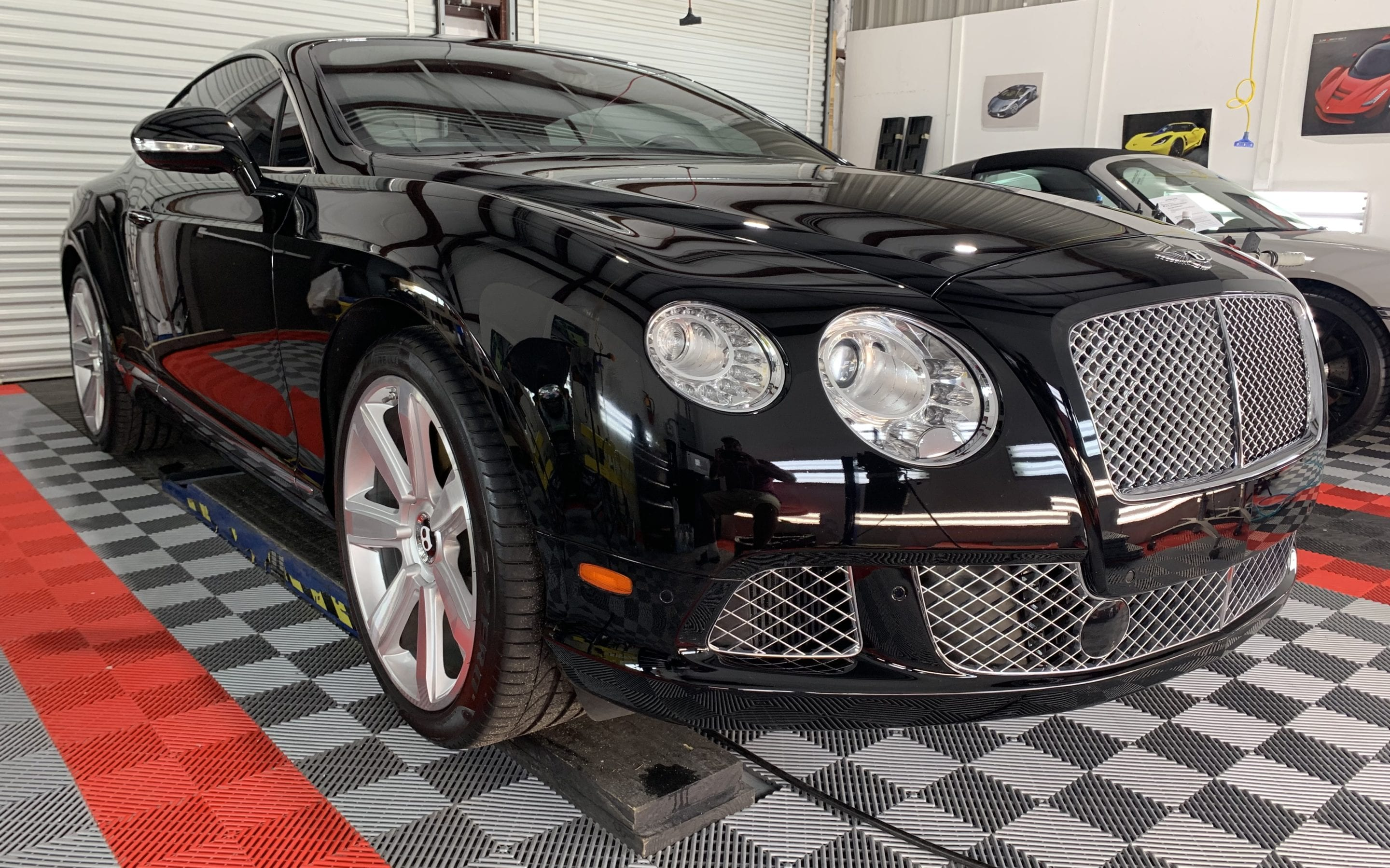 Ceramic Coating of a 2017 Bentley Continental GT