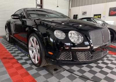 Photo of a Ceramic Coating of a 2017 Bentley Continental GT