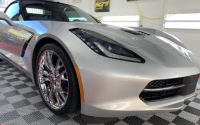 New Car Preparation of a 2018 Chevrolet Corvette