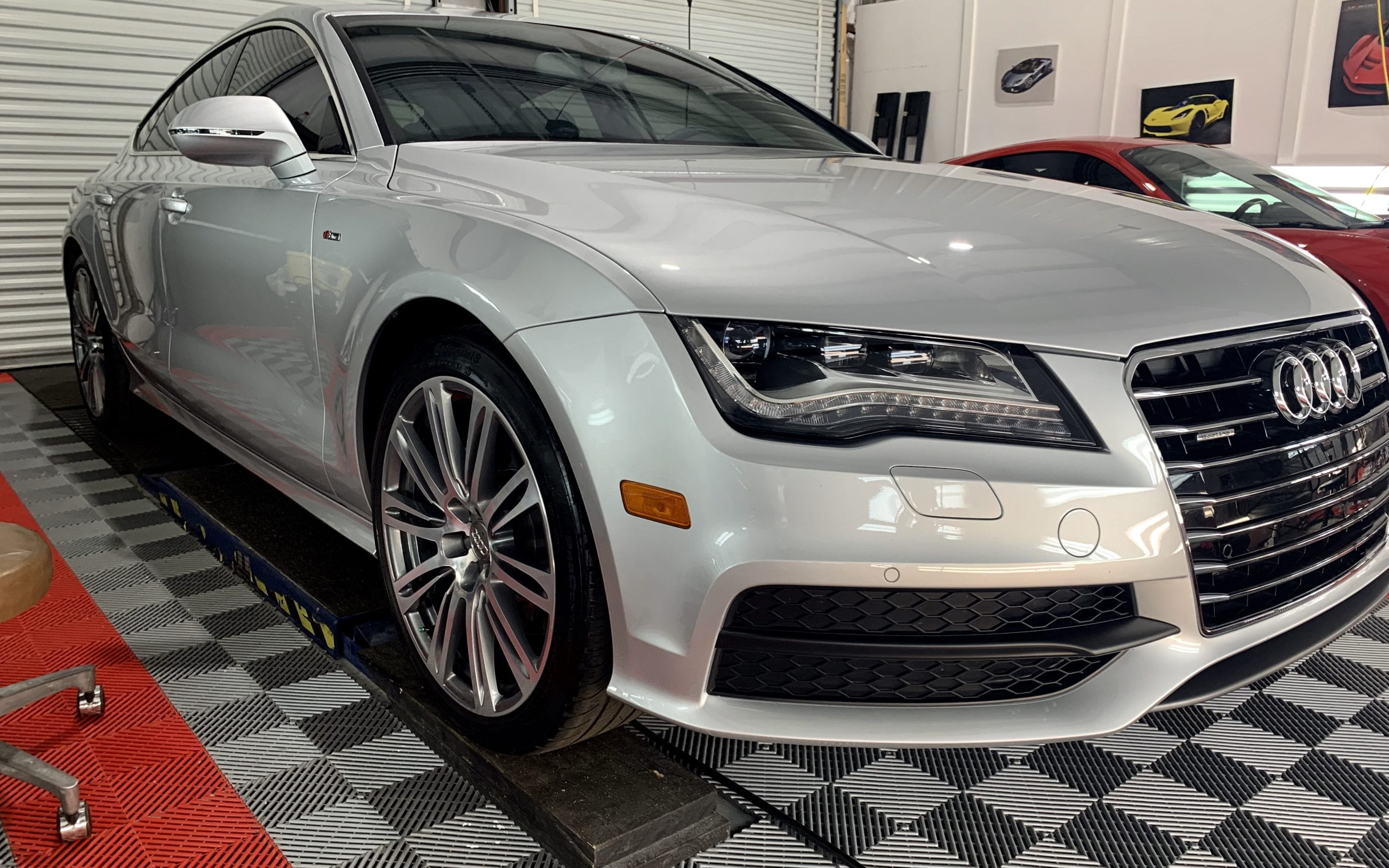 Ceramic Coating of a 2017 Audi A7 or S7 or RS7