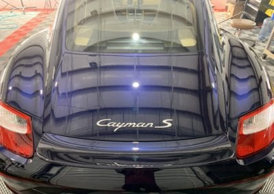 Ceramic Coating of a 2014 Porsche Cayman