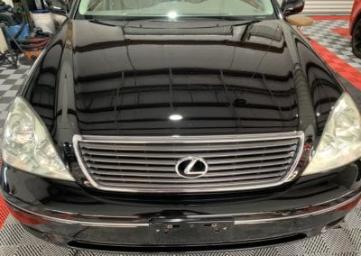 Photo of a Ceramic Coating of a 2002 Lexus LS