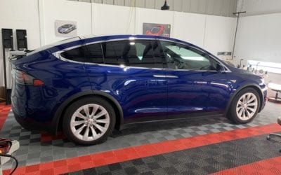 Ceramic Coating of a 2018 Tesla Model X